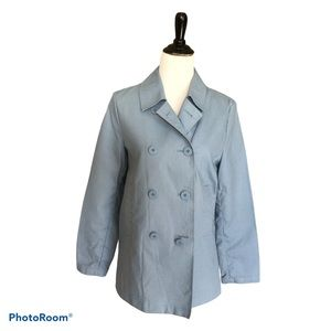 Old Navy Trench Car Coat Blue